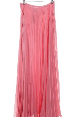 Mango Faltenrock pink Elegant