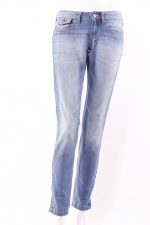 Mango Five-Pocket-Jeans blau