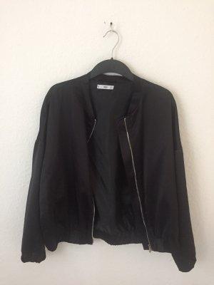 Mango Bomber Jacket black