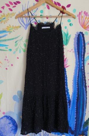 Mango glitzerendes Kleid mit Glasperlen