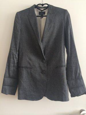 MANGO - Graue Lange Jacke