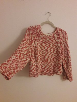 Mango Grobstrick Pullover cropped