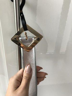 Mango Cintura in ecopelle oro-argento