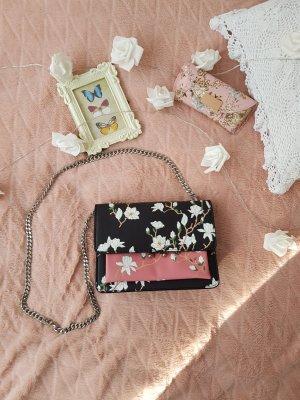 Mango Handtasche mit floralem Muster