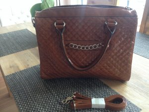 Mango Handtasche, sehr gut erhalten! Cognacfarben