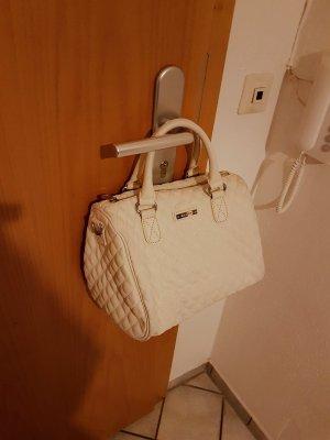 Mango Handtasche weiß beige