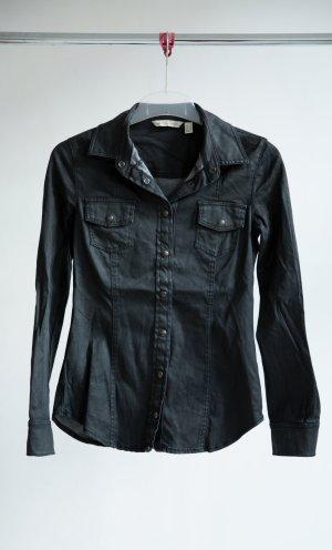 Mango Hemd - schwarz