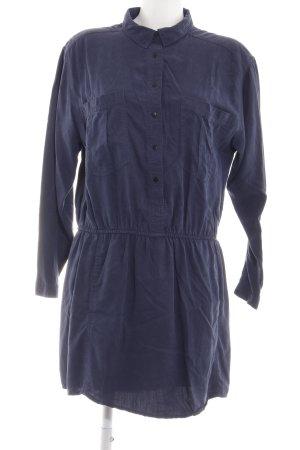 Mango Shirtwaist dress blue business style