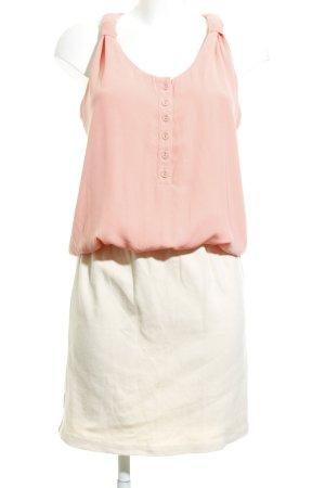 Mango Abito blusa camicia albicocca-crema stile casual