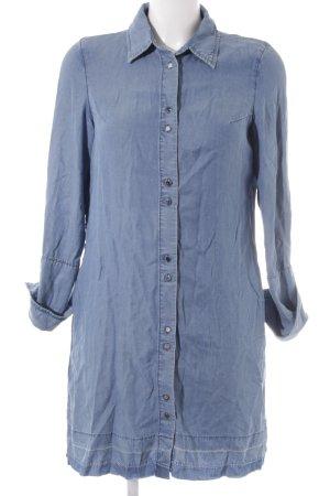 Mango Abito blusa camicia azzurro stile casual