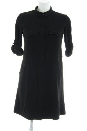 Mango Robe chemise noir élégant