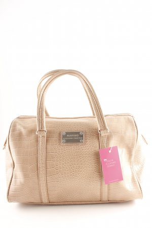 Mango Carry Bag dusky pink reptile print
