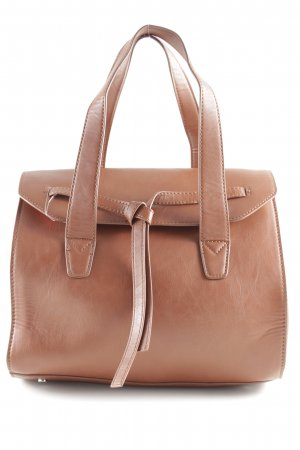Mango Carry Bag cognac-coloured casual look