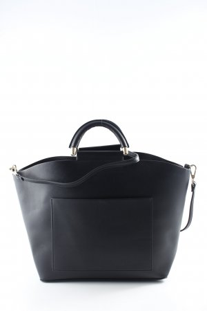 Mango Carry Bag black-gold-colored casual look