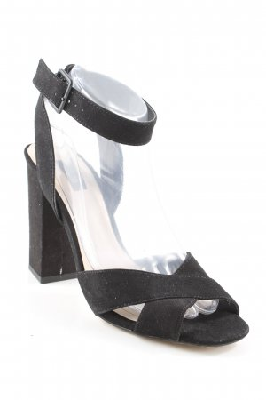Mango High Heel Sandal black party style