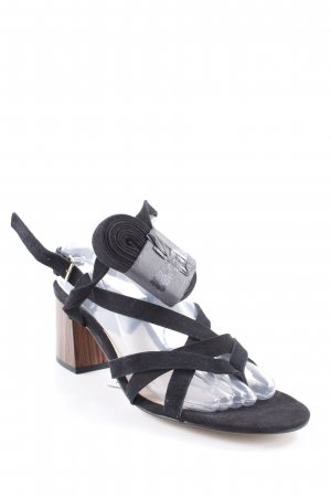 Mango High Heel Sandal black simple style