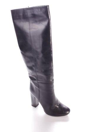 Mango High Heel Stiefel schwarz schlichter Stil