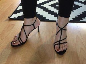 Mango High Heel Sandal black