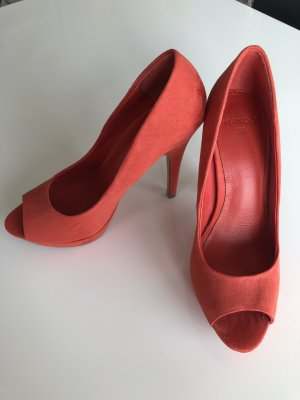 Mango High Heels Peeptoes Pumps Gr.36