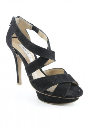 Mango High Heels schwarz Party-Look