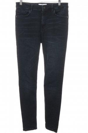 Mango High Waist Jeans dunkelblau Casual-Look