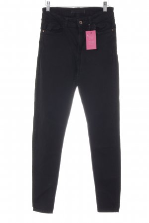 Mango High Waist Jeans schwarz Casual-Look