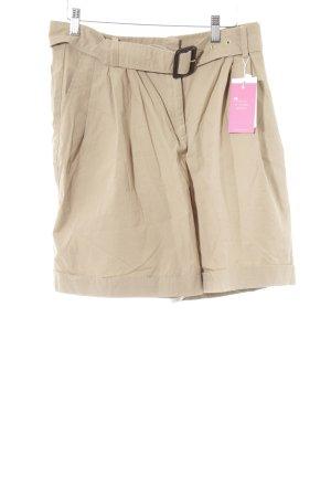 Mango High-Waist-Shorts beige Casual-Look