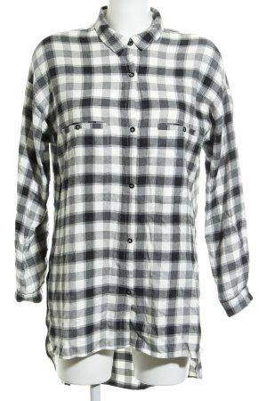 Mango Houthakkershemd geruite print boyfriend stijl