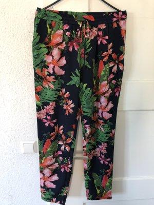 Mango Jersey Pants multicolored