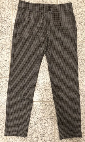 Mango Peg Top Trousers grey-black