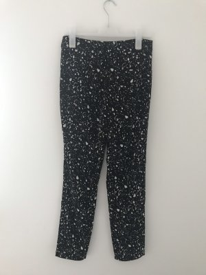 Mango Pantalone chino nero-bianco
