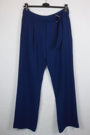 Mango Marlene Trousers dark blue