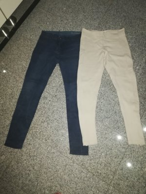 Mango Trousers natural white