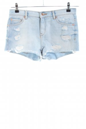 Mango Hot Pants blau Casual-Look