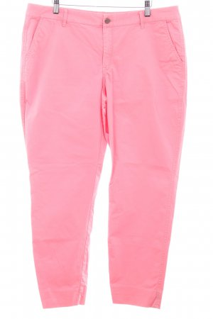 Mango Lage taille broek roze casual uitstraling