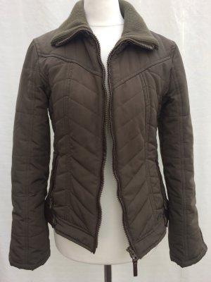 Mango Jacket taupe polyester