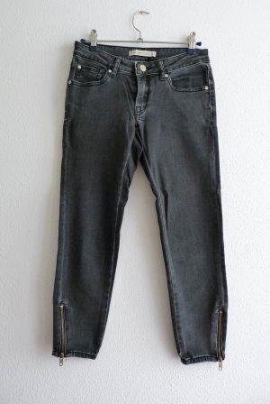 Mango Jeans 7/8 gris