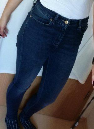 Mango Jeans blau ungetragen Gr 36 highwaist
