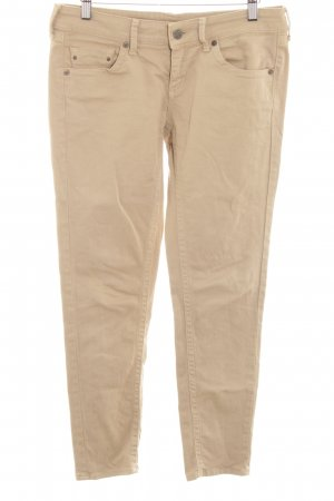Mango Jeans Five-Pocket-Hose beige Casual-Look