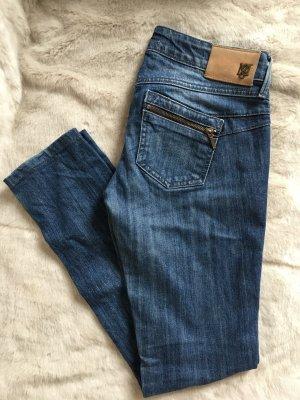 Mango Spijkerbroek blauw