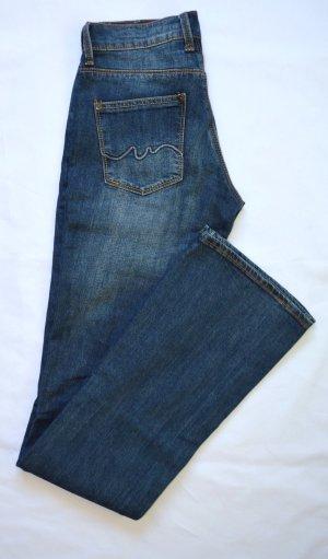 Mango Jeans Gr. 34 Neu Cotton Blue