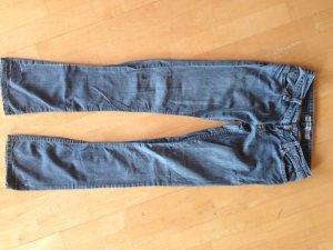 MANGO Jeans, grau-blau, leichter Stoff, Gr. 34