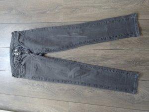 Mango Jeans grau gerader Schnitt
