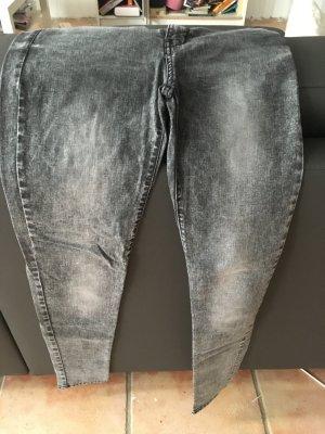 Mango Jeans grau meliert