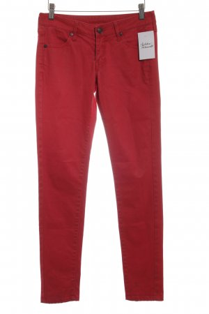 Mango Jeans High Waist Jeans rot Casual-Look
