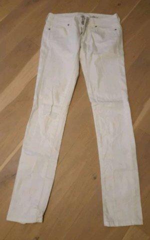 Mango Jeans Hose Weiß