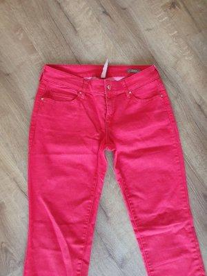 Mango Jeans in Rot Gr 38