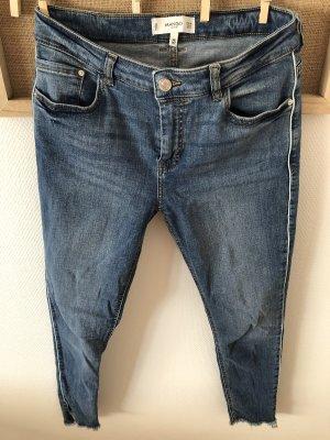 Mango 7/8 Length Jeans light blue