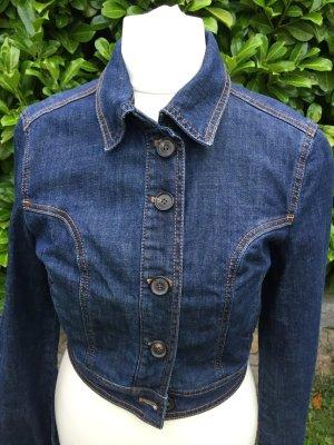 Mango Jeans Jacke kurz blau