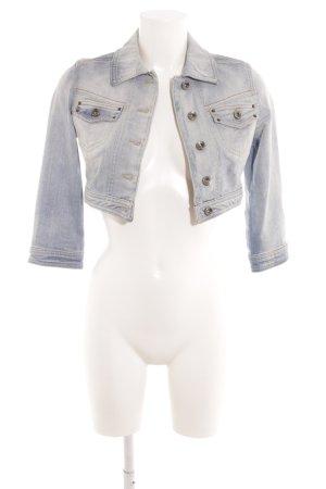 Mango Jeans Jeansjacke himmelblau Casual-Look